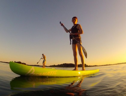 Baptême de Stand up paddle