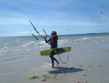 Stage Initiation au kitesurf