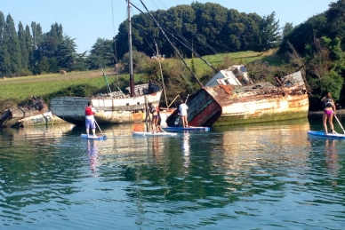 Stand Up Paddle ballade en Rance